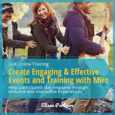 Creating Engaging & Interactive Online Events & Training with Miro